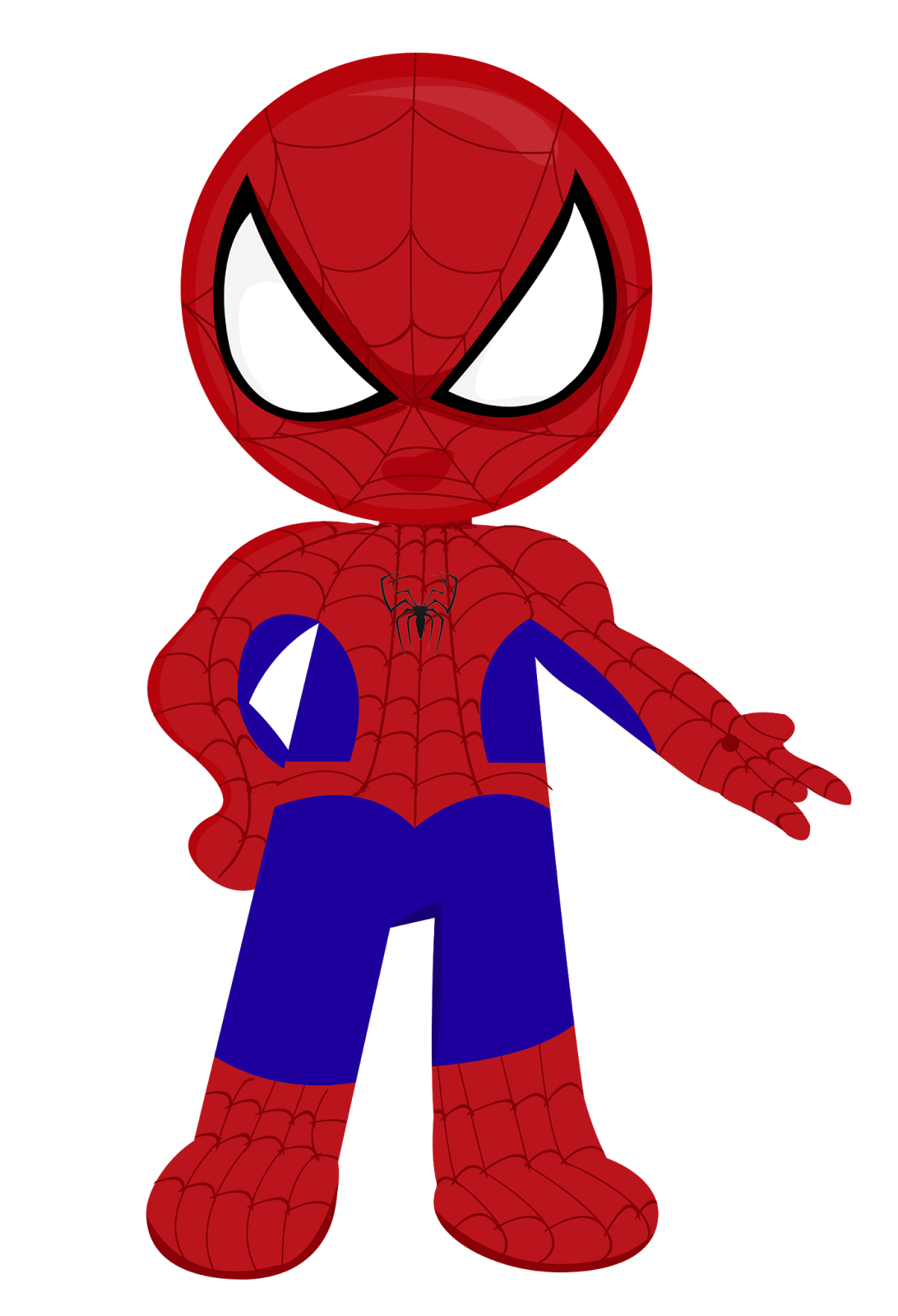 Beautiful 1092x1600 Spiderman Clipart