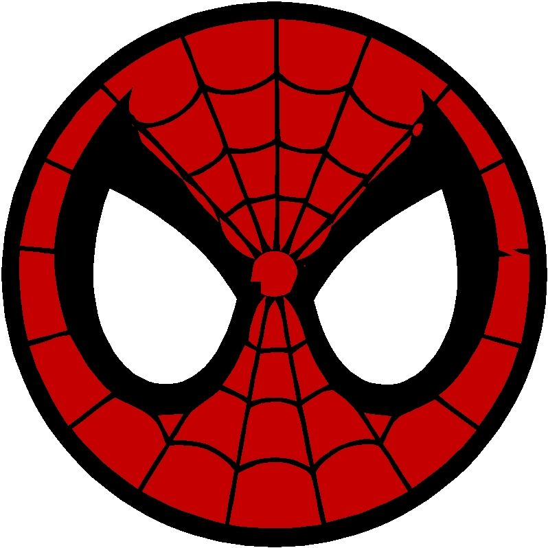 Spiderman face logo - photo#50