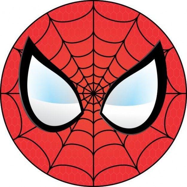 626x626 Spiderman Face Logo Spiderman Mask Clipart 23427wall.jpg Ollie'S
