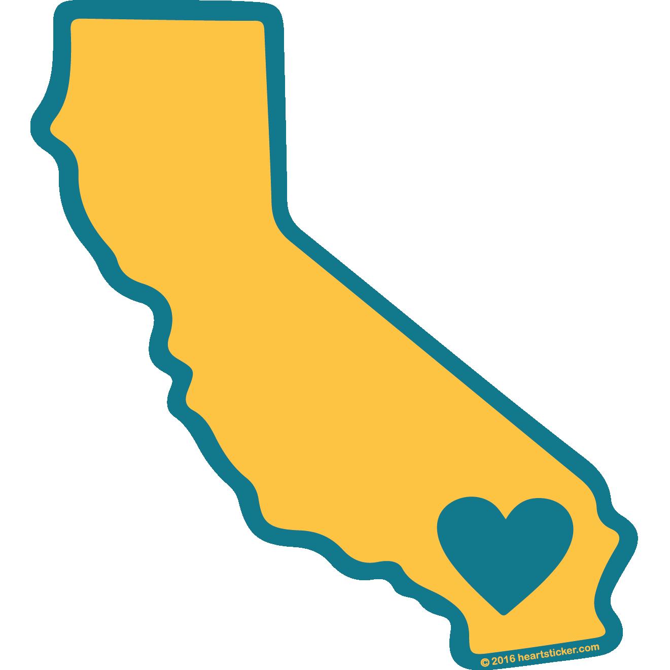 1321x1321 California Clipart Yellow