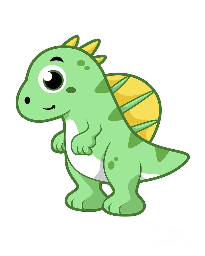 720x900 List Of Synonyms And Antonyms Of The Word Spinosaurus Cartoon