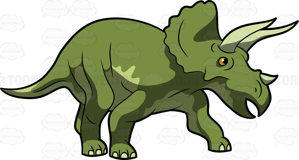 1024x550 Dinosaurs Clipart Vector Toons