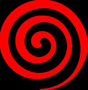291x300 Red Spiral Lollipop Clip Art