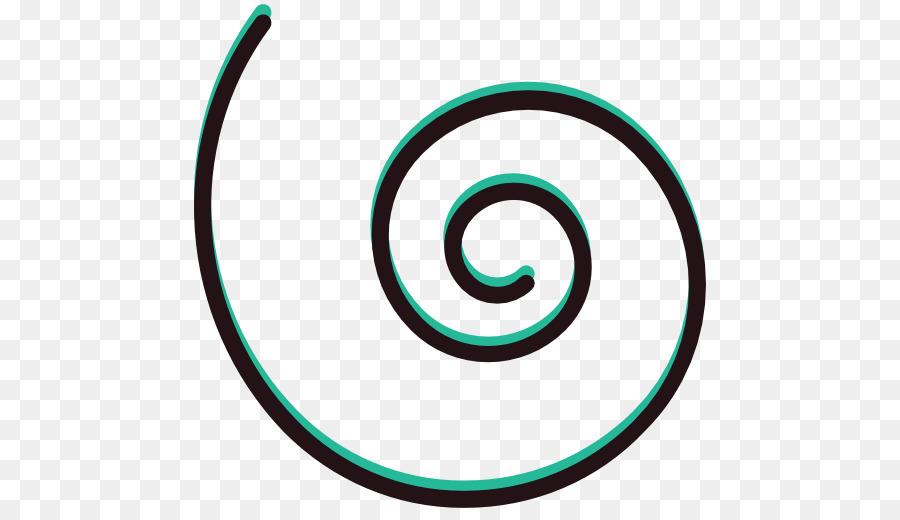 900x520 Spiral Circle Shape Line Clip Art