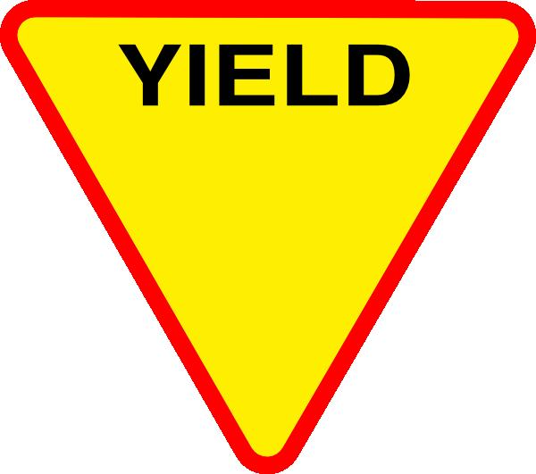 600x531 Yield Spirit Clip Art