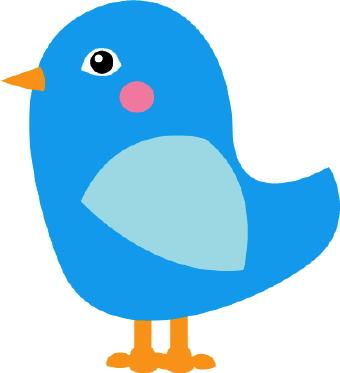 340x373 Clipart Blue Bird