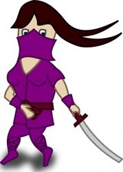 179x250 Ninja Battle Clip Art, Free Vector Ninja Battle