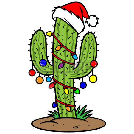 450x450 Cactus Clipart Christmas Cactus Free Collection Download