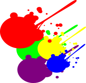 298x288 Paint Splatter Clip Art Clipart Panda