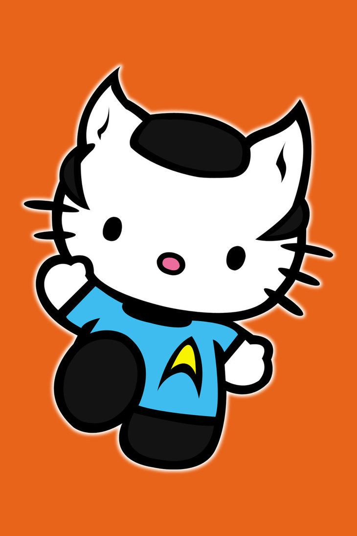 730x1095 Hello Kitty In Spock Costume I Enjoy Being A Geek