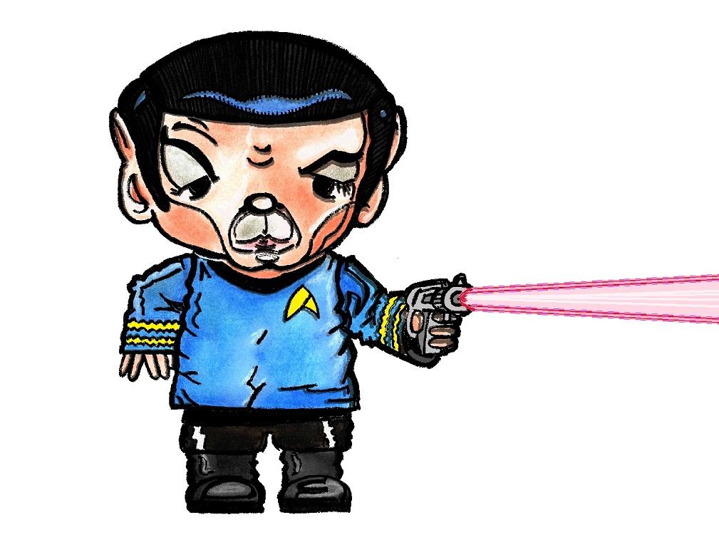 1009x775 Little Ziggy Little Yoda And Little Spock