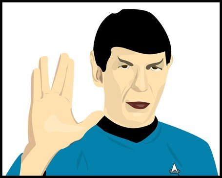 455x364 Free Spock Clipart And Vector Graphics