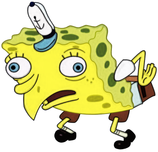 658x633 High Resolution Mocking Spongebob Mocking Spongebob Know Your Meme