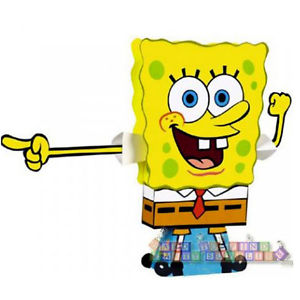300x300 Spongebob Squarepants Stand Up Centerpiece ~ Birthday Party