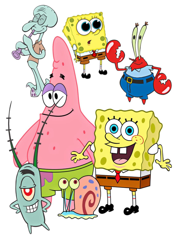 1159x1500 Spongebob Image, Spongebob Cutout,patrick Image,mr Krabs,squidward