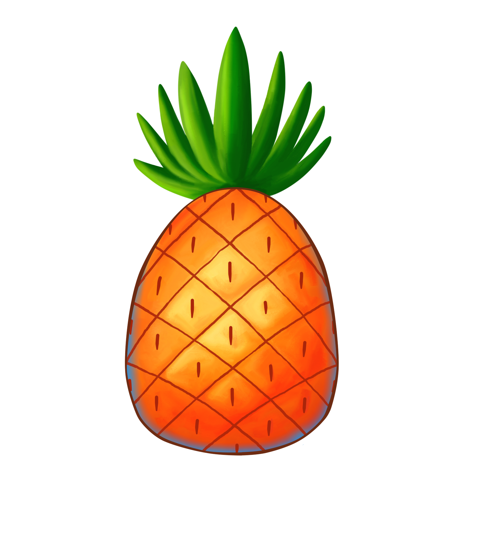 1599x1823 Collection Of Spongebob Pineapple Clipart High Quality, Free