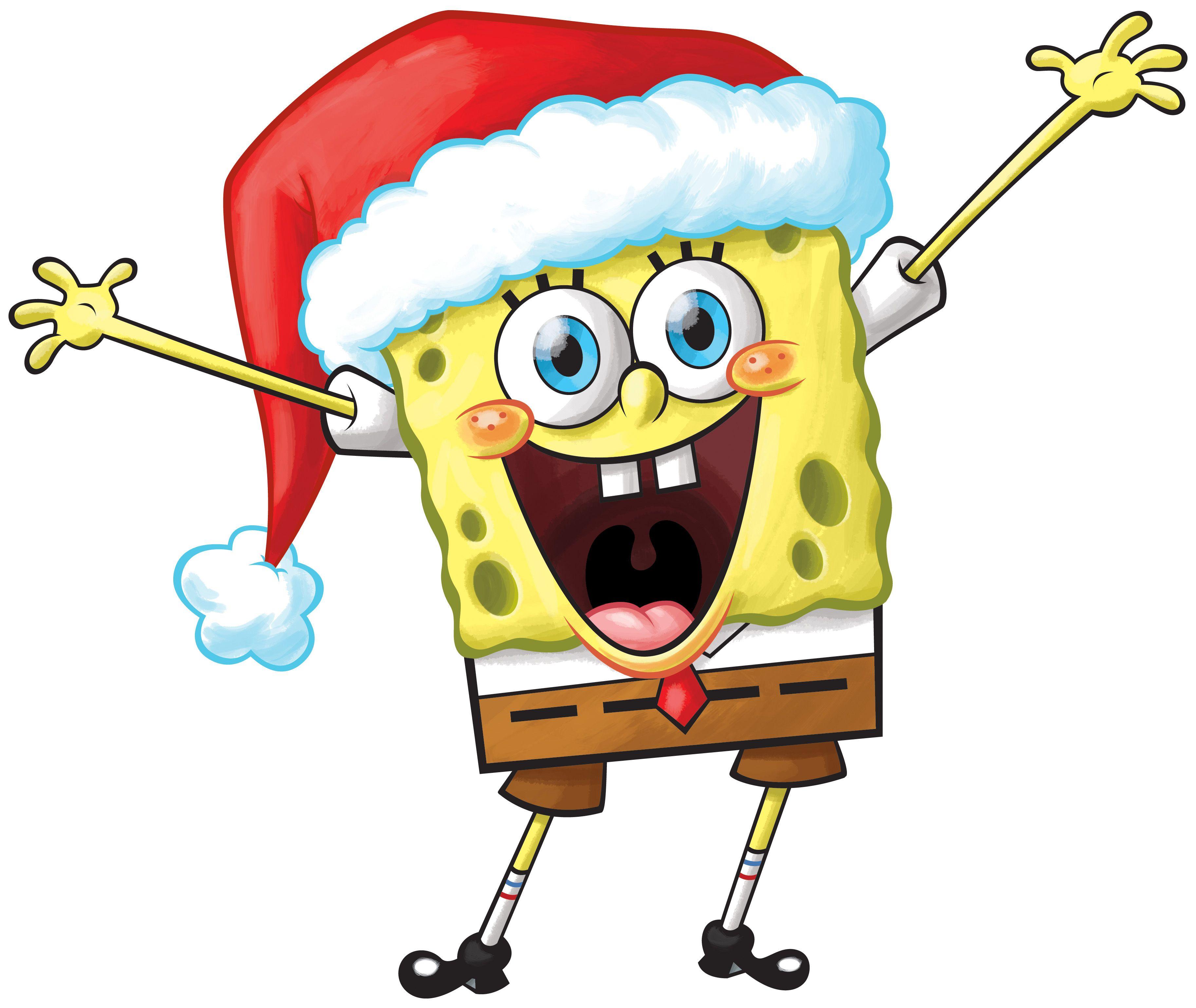 spongebob christmas clipart 20