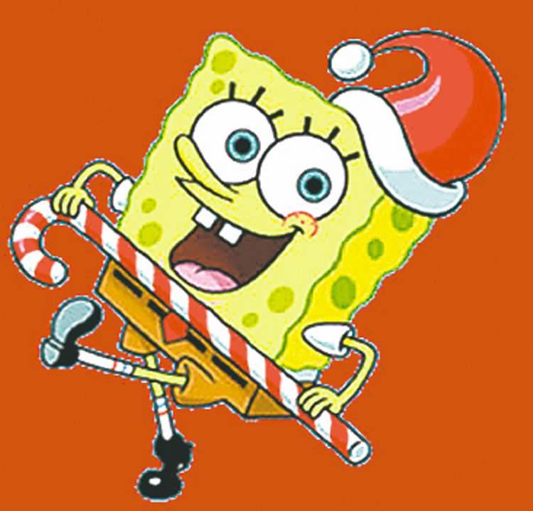 750x719 Christmas Spongebob Clipart
