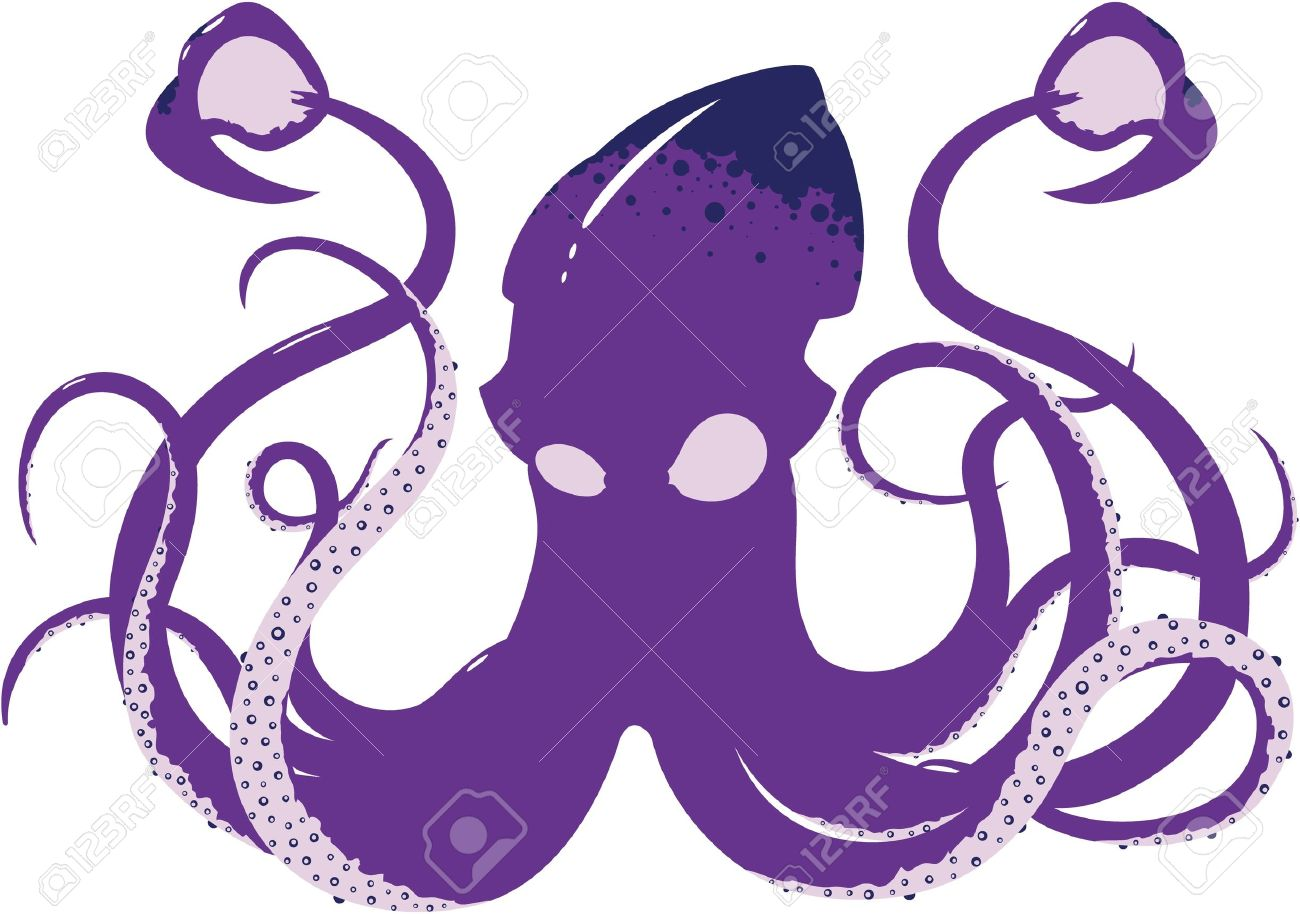 1300x914 Tentacle Clipart Animated'87701