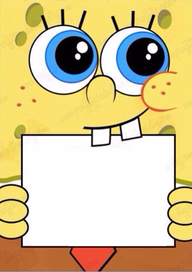 640x904 Party Clipart Spongebob