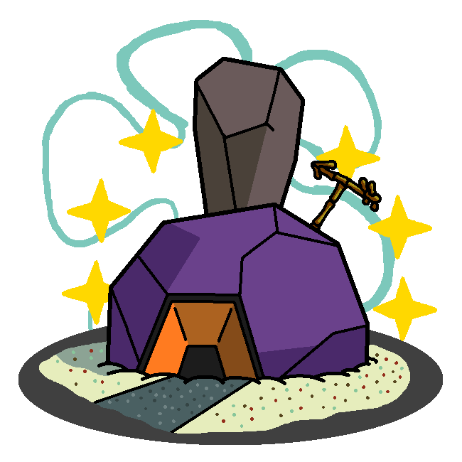 650x650 Shiny Roggenrola + Patrick's House (Spongebob) By Shawarmachine