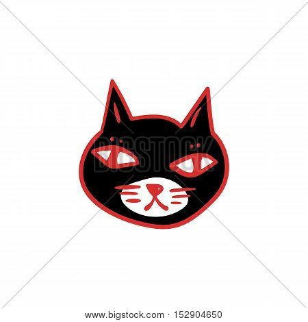 450x470 Black Cat Clipart Halloween Banner