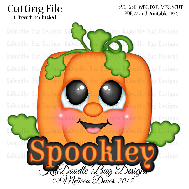720x720 Halloween Kadoodle Bug Designs, Cut Files, Digi Stamps, Clip Art