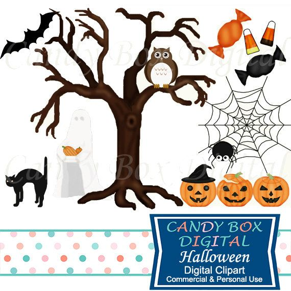 570x570 Halloween Clipart By Candyboxdigital. Jack O Lanterns, Candy