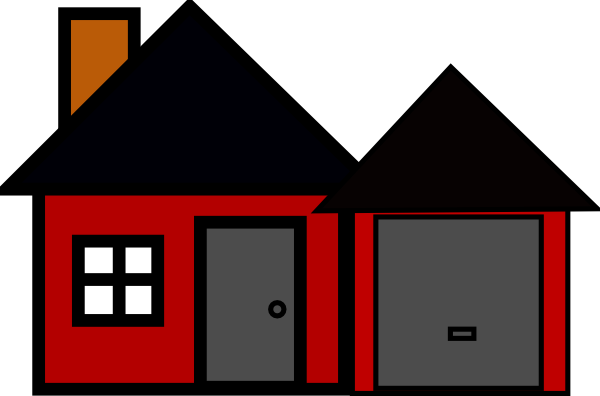 Spooky House Clipart