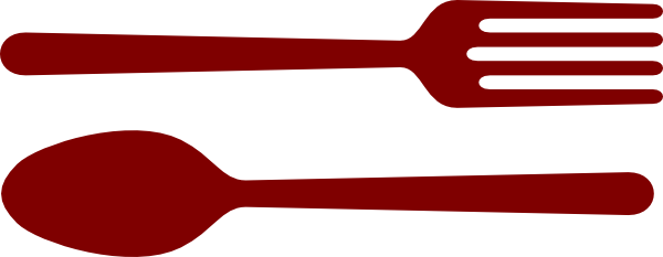 600x233 Fork And Spoon Clip Art The Cliparts