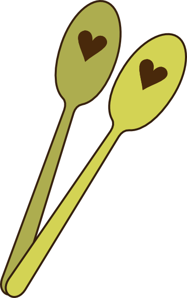 372x591 Collection Of Cute Spoon And Fork Clipart High Quality, Free