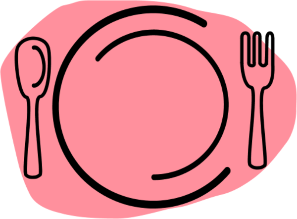 600x442 Plate Fork Clipart, Explore Pictures