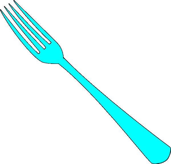 600x575 Fork Clip Art Clipartlook