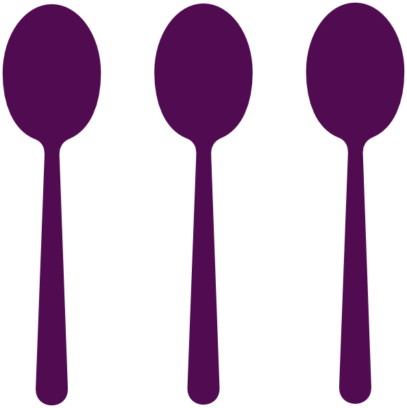 594x596 Spoon And Fork Clipart