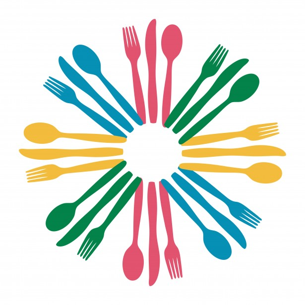 615x615 Spoon And Fork Clipart