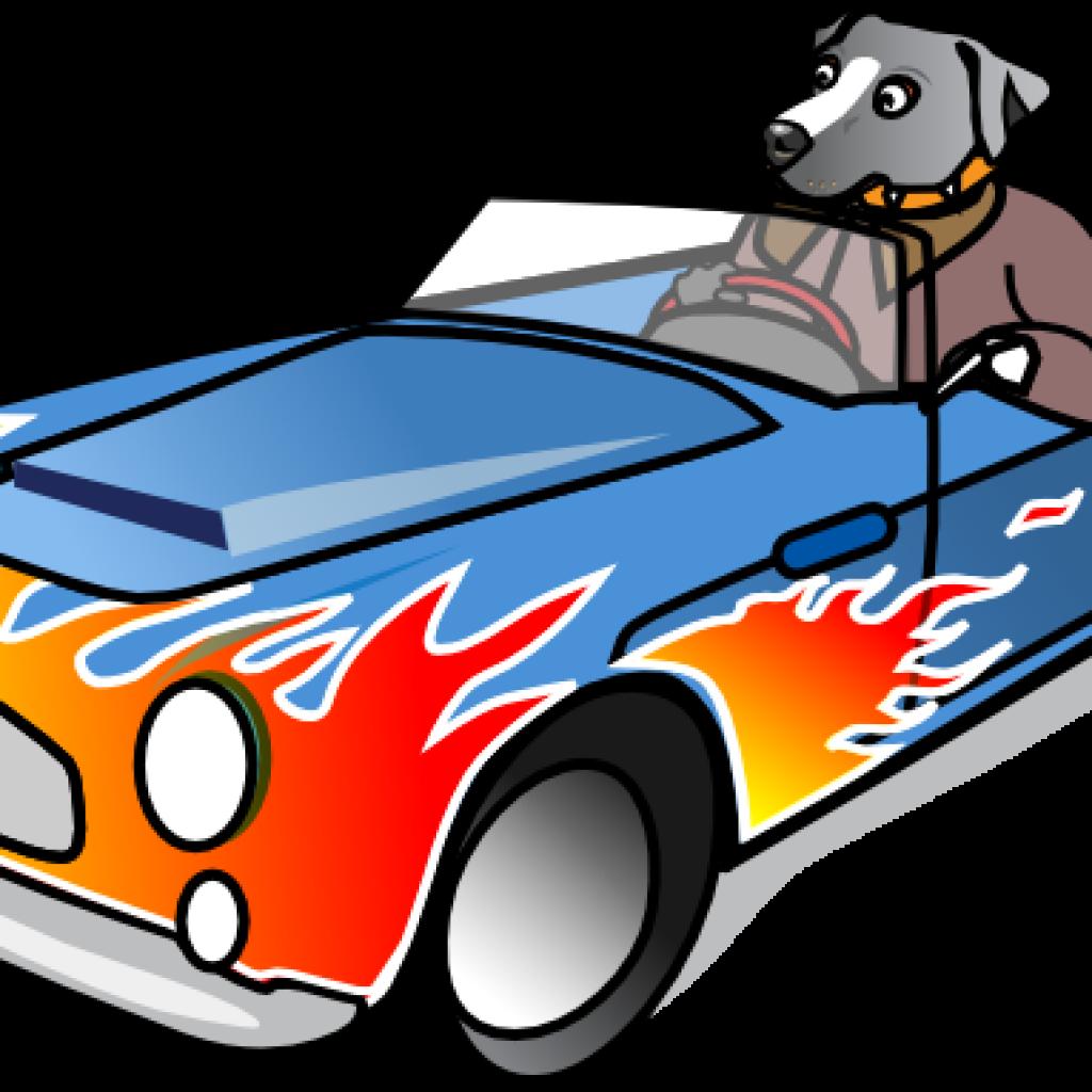 1024x1024 Sports Car Clip Art