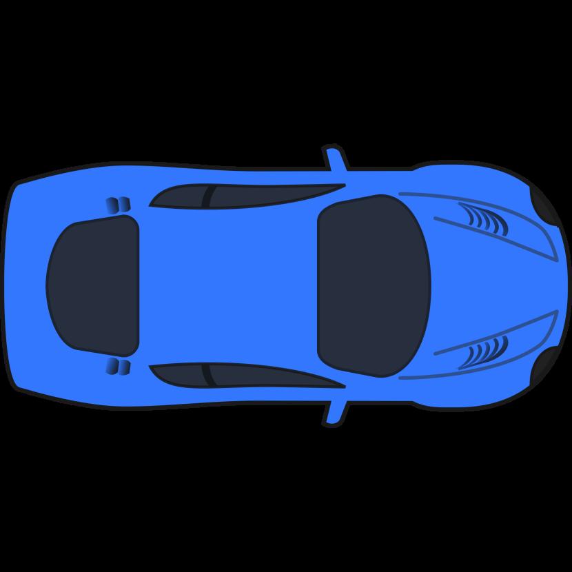 830x830 Best Car Clipart Top View