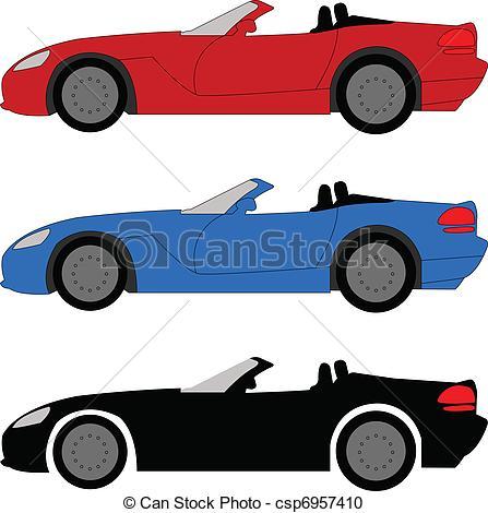 447x470 Sports Car Clip Art Sports Car Vector Illustration Vector Clipart