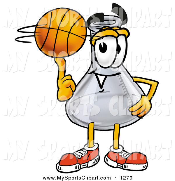 600x620 Sports Clip Art Of A Sporty Glass Erlenmeyer Conical Laboratory