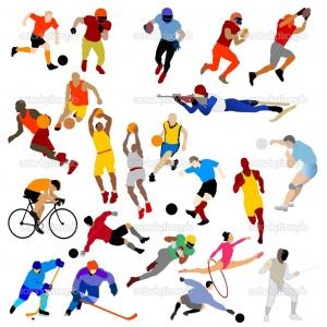 300x300 Sports Clipart For Kids Stock Vector Sport Day Theme With Kids