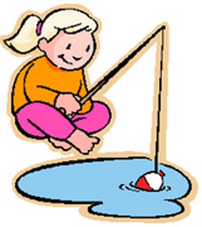 700x783 Clip Art Girl Fish Sports Clipart Free Fishing To Download