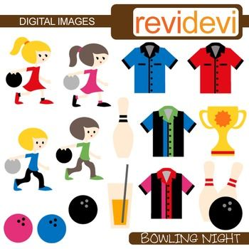 350x350 Clip Art Bowling Night (Kids, Sport) Commercial Use Clipart Kids