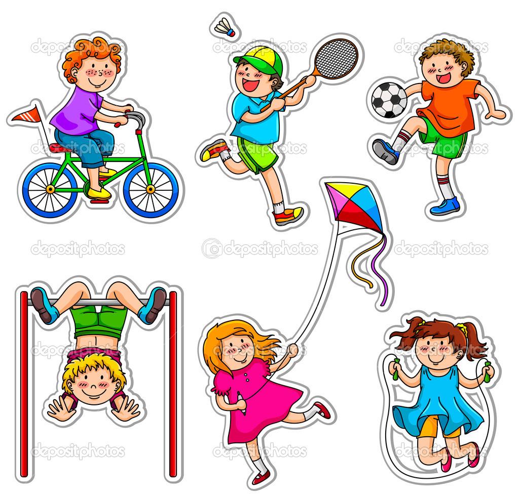 1024x984 Kids Playing Sports Clipart Clipart Panda