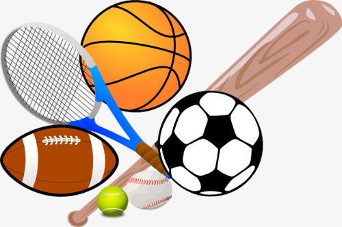500x332 Cartoon Sports Equipment, Cartoon Motion, Sports Equipment