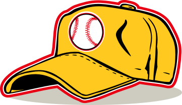 361x209 Baseball Cap Clipart Craft Projects, Sports Clipart