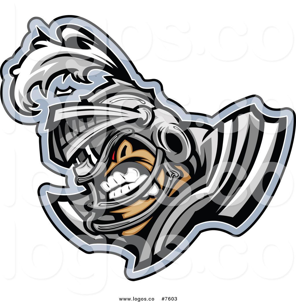 1024x1044 Royalty Free Clip Art Vector Logo Of A Tough Knight Football