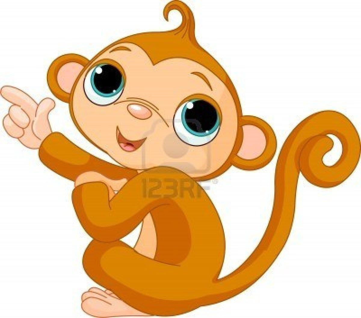 1200x1059 Clipart Of Cartoon Monkeys Spring Monkey Cliparts Free Download