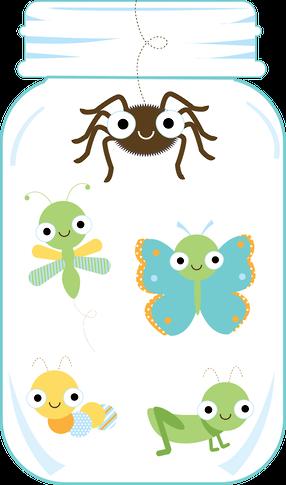 286x485 Jar Of Bugs Clip Art, Dibujos A Color Jar, Clip