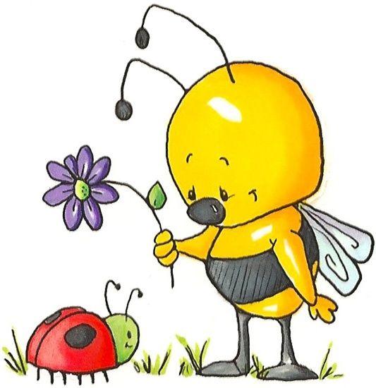 533x550 Ladybug Ladybug Bee Love Ladybug, Bees And Meli