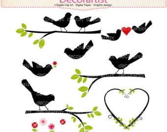 340x270 On Sale Flowers Clipart Spring Clipart. Birds Clipart